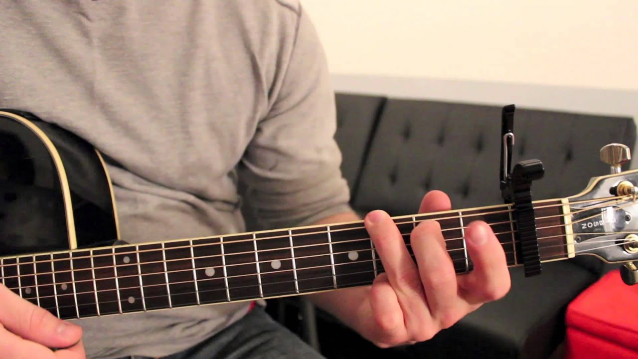 Sam Smith Latch Guitar Chords Lesson By Shawn Parrotte Youtube