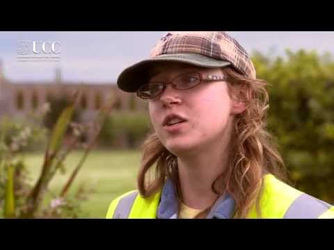 Alison, a student archaeologist.