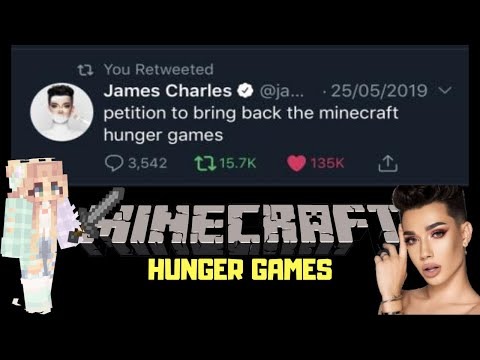 James Charles FORCED me to play Minecraft Hunger Games...... thumbnail
