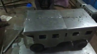 Mechanical/ Automobile engineering students projects---FOLDABLE VEHICLE