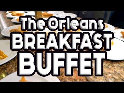 The Orleans Las Vegas Breakfast Buffet Tour