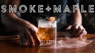 The Smoked Maple OĮd Fashioned Cocktail