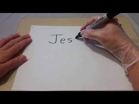 ¡Cómo se escribe tu nombre Jesús en Thai!