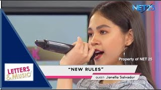 JANELLA SALVADOR - NEW RULES (NET25 LETTERS AND MUSIC)
