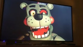 Jumpscares from FNAF 1, 2, 3, 4, 5, 6 & UCN on TV