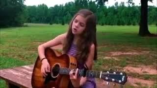 Little Girl Performs A Beautiful Cover Of 'Desperado'