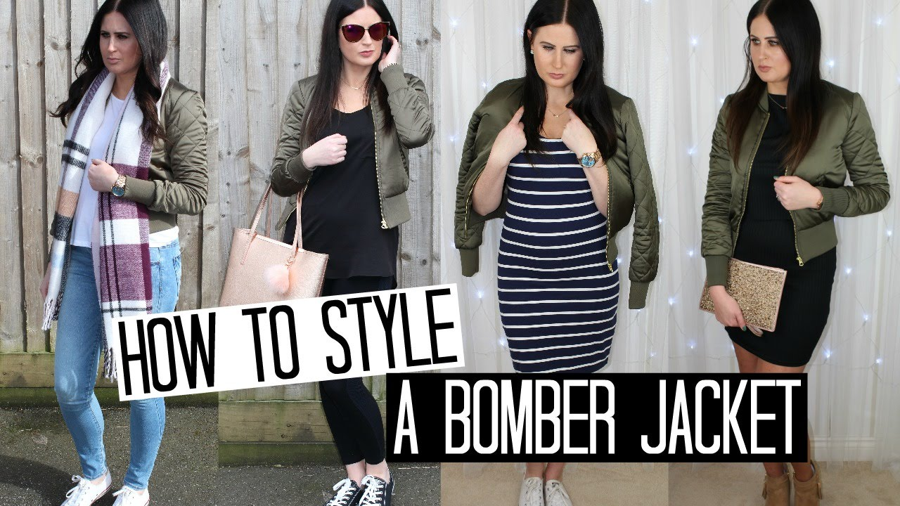How To Style a Bomber Jacket - 4 Ways | FASHION WEEK