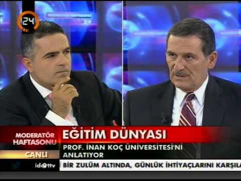Koç Üniversitesi Rektörü Umran İnan - Haftasonu Moderatörü - 1