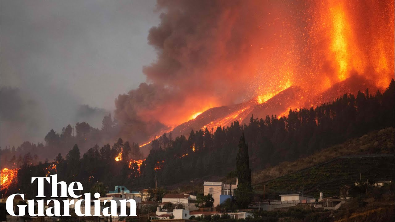 Volcano erupts on Spain's Atlantic Ocean island of La Palma; some ...