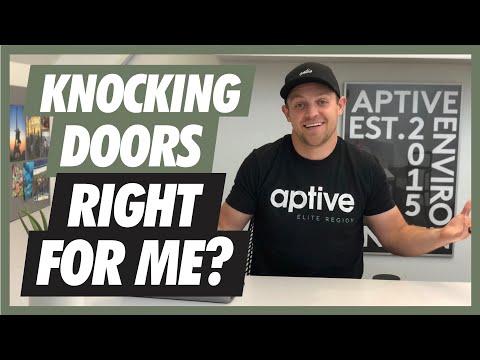 Can You MAKE IT As A Door To Door Salesman? | Aptive Elite Door To Door Sales