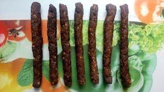 Охотничьи говяжьи сыровяленые колбаски к пиву по эксклюзивному рецепту (Без коптилки и без кишок)