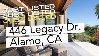 Your Dream Home: 446 Legacy Drive, Alamo, CA