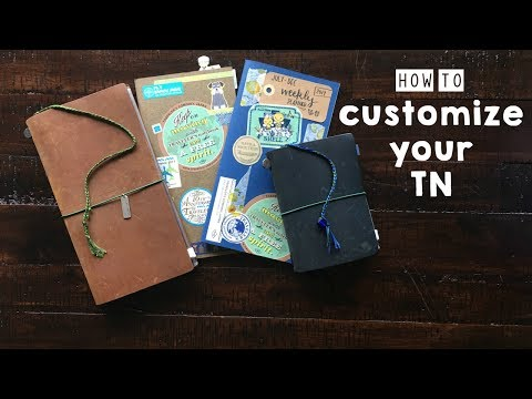 Traveler's Notebook - 3 Ways to Customize