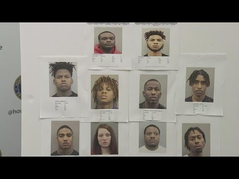 Houston Police and ATF Agents Take Down Suspects in Violent Crime Ring