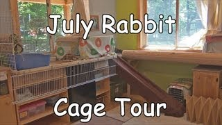 July Rabbit Cage Tour
