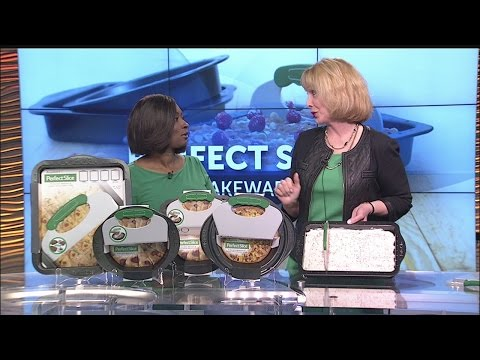 News 2 sits down with Perfect Slice Bakeware inventor Becky Parr