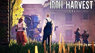 Iron Harvest - Official Saxony Faction Gameplay Trailer