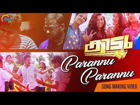 Parannu Parannu  Song Making Video | Kidu | Vaishnav Girish | Vimal T K | Majeed Abu |