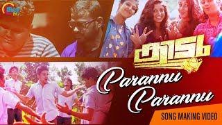 Parannu Parannu Song Making | Kidu | Vaishnav Girish | Vimal T K | Majeed Abu |