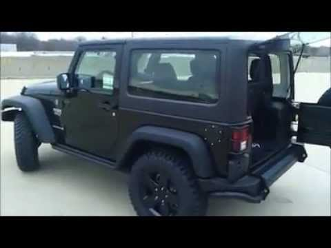 2012 Jeep Wrangler Call Of Duty Modern Warfare 3 Edition Youtube