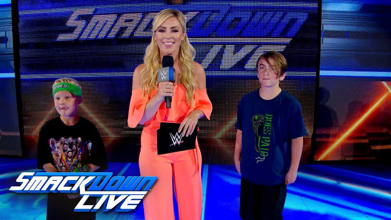 Download Sarah Schreiber tests WWE fans' knowledge: SmackDown Exclusive, July 9, 2019