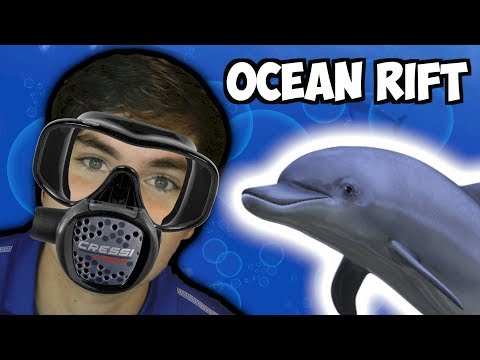 SWIMMING WITH DOLPHINS! Ocean Rift (HTC Vive VR)
