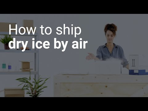 How To Ship Dry Ice By Air
