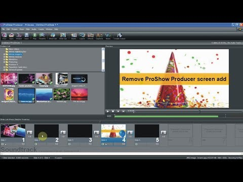 ProShow Producer - How To Remove ProShow Screen Add Hindi.Urdu Tutorial Part - 2
