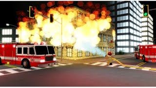 ROBLOX: I become a FIREMAN!! /Emergency Response.