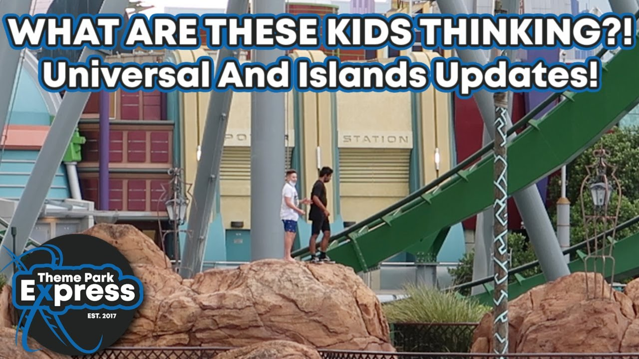Someone Get Their Kids! Universal Studios Updates! HHN Tribute Store, Velocicoaster & Crowd Levels!