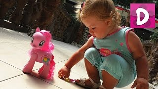 ✿ Киев, Дрим Таун, Распаковка My Little Pony Пинки Пай (Pinkie Pie) unpacking Диана Шоу