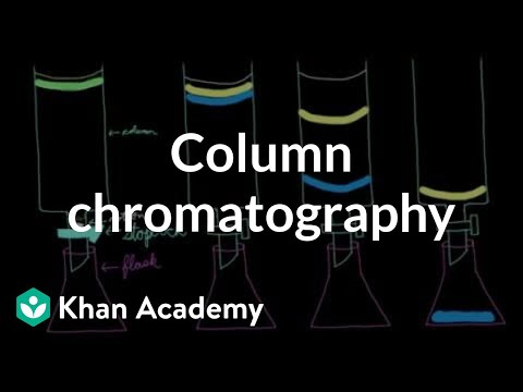 Column chromatography | Chemical processes | MCAT | Khan Academy