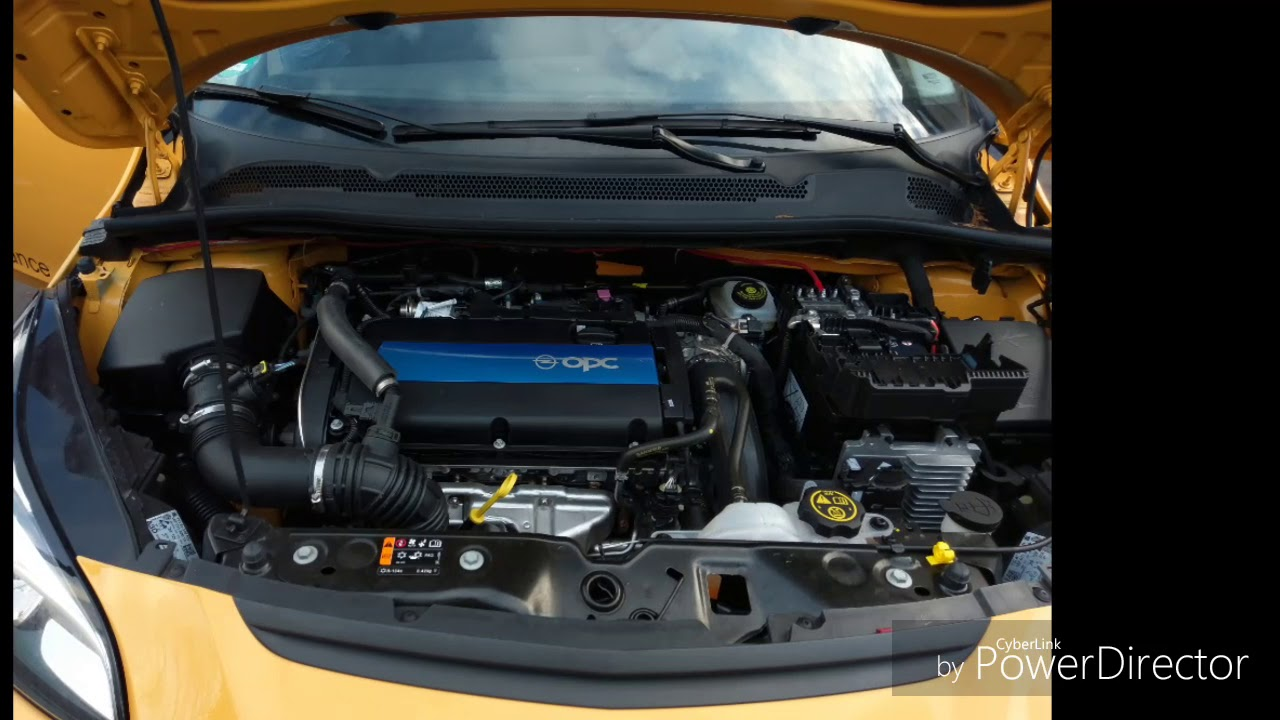 Opel Corsa E OPC #03 Subwoofer Verkabelung - YouTube