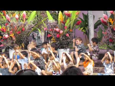 Hahaione Elementary School Ho'oike 2015 Pre-K
