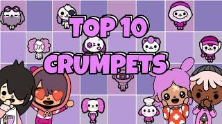 TOCA LIFE WORLD: TOP 10 CRUMPETS