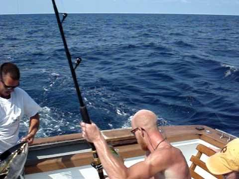 Yellowfin Tuna 50lb:aboard Reliance Out Of Hatteras Harbor Marina, NC June 2010