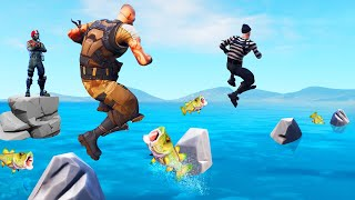 Simon Says JUMP But DON'T FALL OFF! (Fortnite)