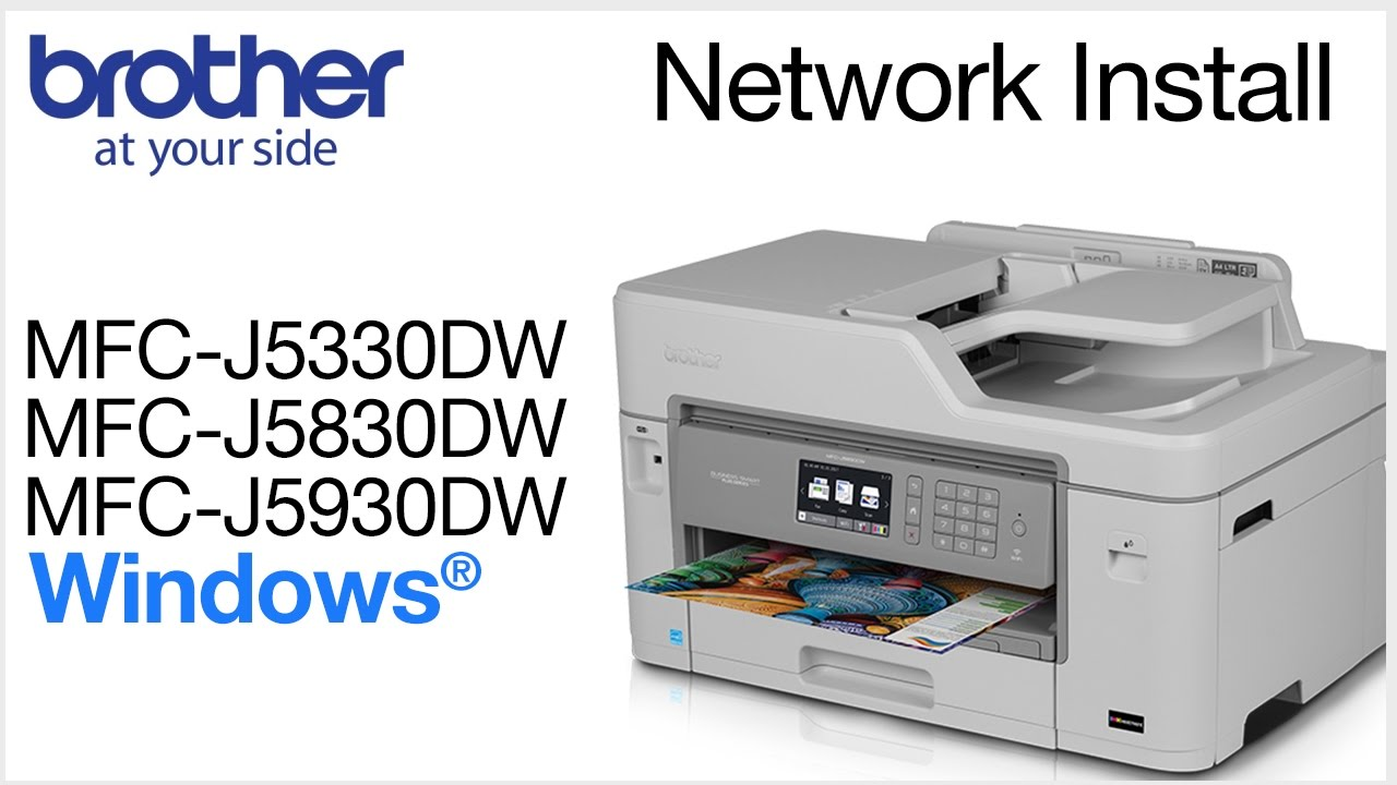 BROTHER MFC-J5330DW LAN DRIVER WINDOWS 7