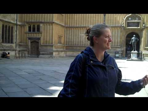 Tour of Oxford Part 1 Magdalen, Sheldonian, St. Mary the Virgin.mp4