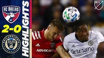 FC Dallas vs. Philadelphia Union   Long Range Golazo!   MLS FOOTBALL HIGHLIGHTS