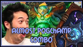 Hearthstone: Almost PogChamp combo (jade druid)