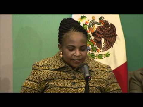 """Reunión Ministerial """"Implementando los Acuerdos de Cancún"""" ( Maite Nkoana-Mashabane)"""