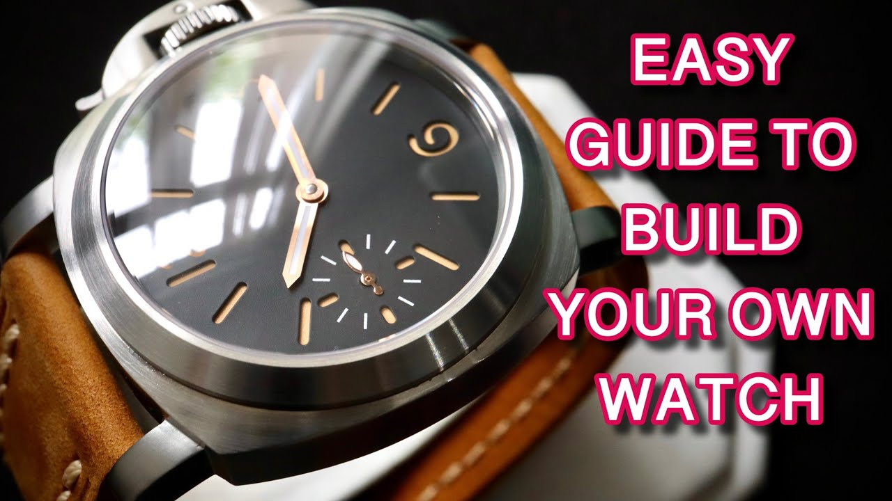 HOW TO CONVERT A POCKET WATCH IN TO A PANERAI -esque WRISTWATCH. unitas 6497 service tutorial guide