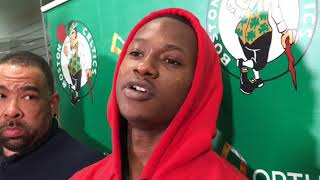 """Terry Rozier on Kyrie Irving: """"He's our starter"""""""