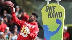 Best Hands: 2019 Pro Bowl Skills Showdown   NFL Highlights