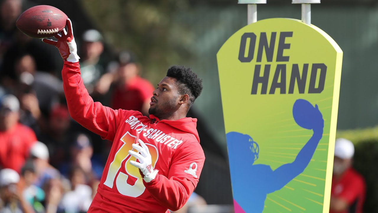 70221b8a603 Best Hands  2019 Pro Bowl Skills Showdown