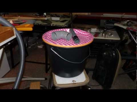 Thien Cyclone Separator Small Cheap Easy Version Diy