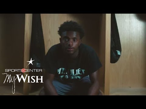 Jalan Sowell Produces His Own Story  My Wish  ESPN Stories