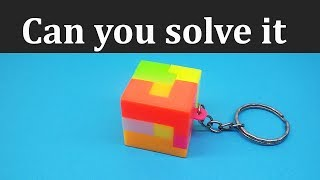 How to Solve Cube Puzzle or keychain puzzle cube | cube keychain and cute keychains by IH Puzzles