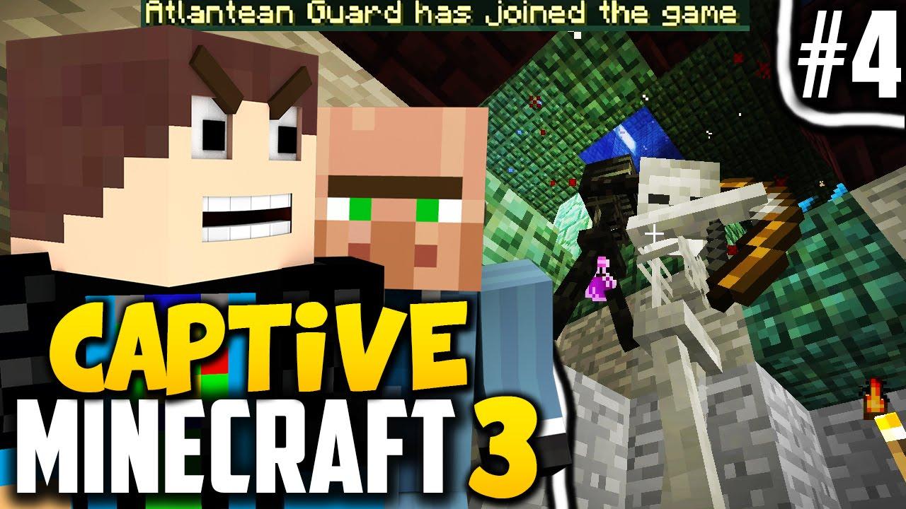 Captive Minecraft Erster Boss Im Spiel Minecraft Captive - Minecraft captive spiele